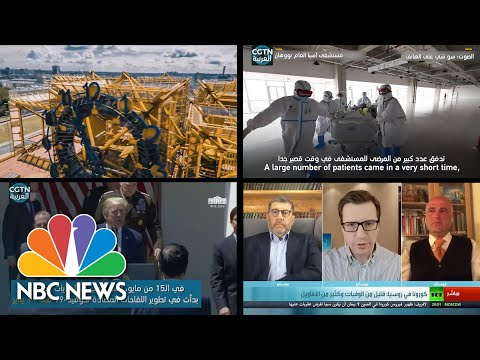 Russia And China Spread Coronavirus Conspiracies About US In Middle East | NBC News