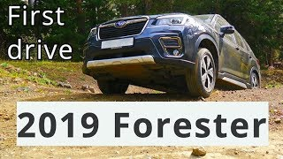 2019 Subaru Forester 2.5i, first drive