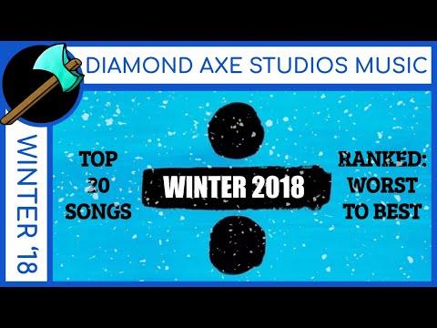 WINTER 2017-18: Billboard Top 20 Pop Songs- Ranked WORST to BEST (Migos, Dua Lipa, Post Malone)