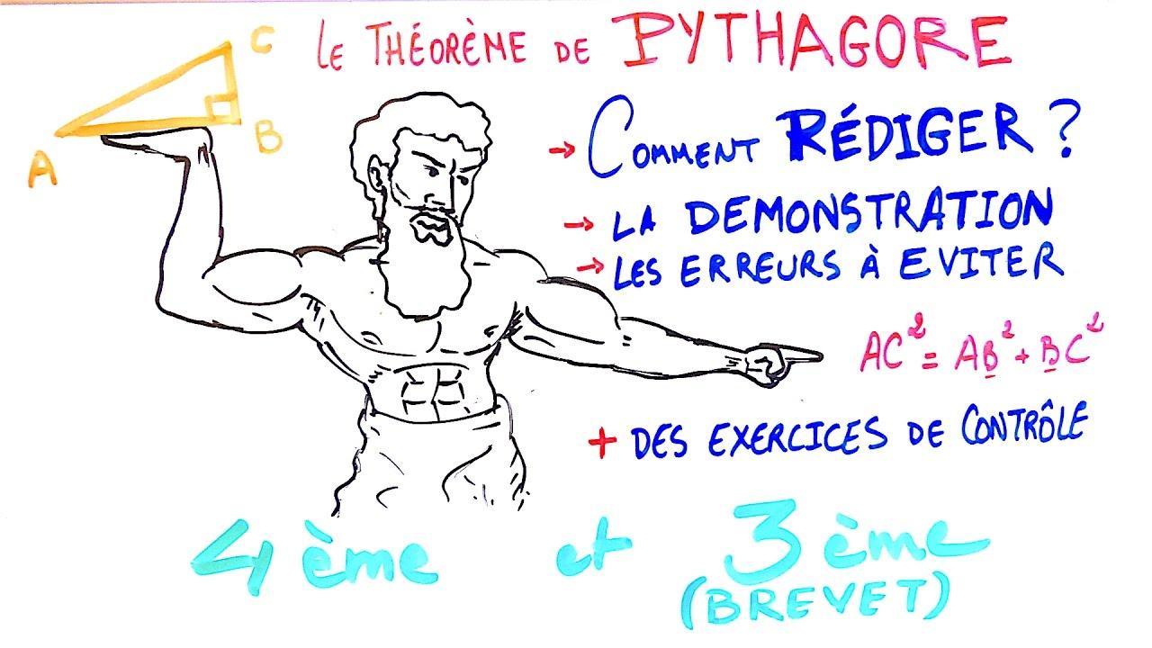 Tout sur le théorème de Pythagore en 20mn [4ème+3ème ...