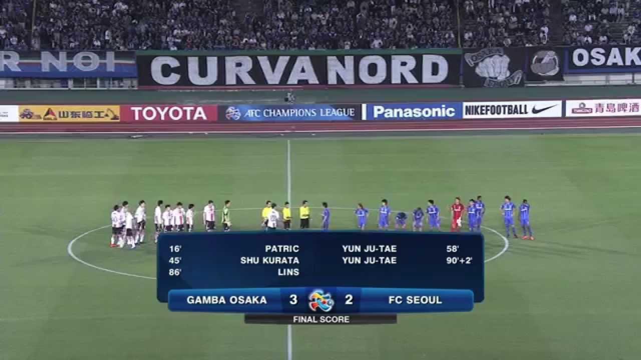 Gamba Osaka 3-2 FC Seoul