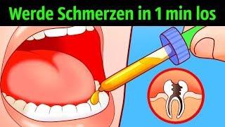10 Möglichkeiten, Zahnschmerzen in einer Minute loszuwerden