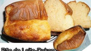 Dieta Dukan: Receita Pão de leite