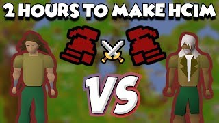 We had TWO hours to make HCIM... Then we fight