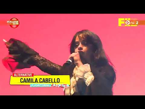 Camila Cabello live She Loves Control on Lollapalooza