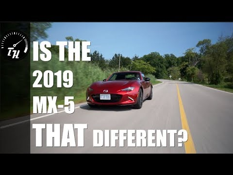 2019 Mazda MX-5 RF // Now more fun for the whole fam- wait, no, still just you.