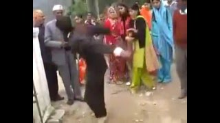 Indian Groom Dulha Awesome Funny Dance in his own marriage