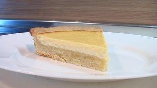 Песочный пирог с творогом. Очень вкусно!