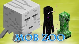 Minecraft Mob Zoo in Survival Thumbnail