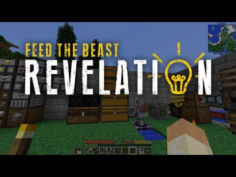 FTB Revelation on FTB One #7 - Improved Storage and AE2 Beginnings (Modded Minecraft 1.12.2)