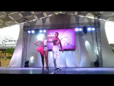 Santiago Grisales y astrid - Salsa cabaret
