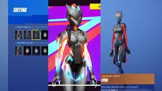 Déverrouillage Lynx Stage 3 sur Fortnite Battle Royale