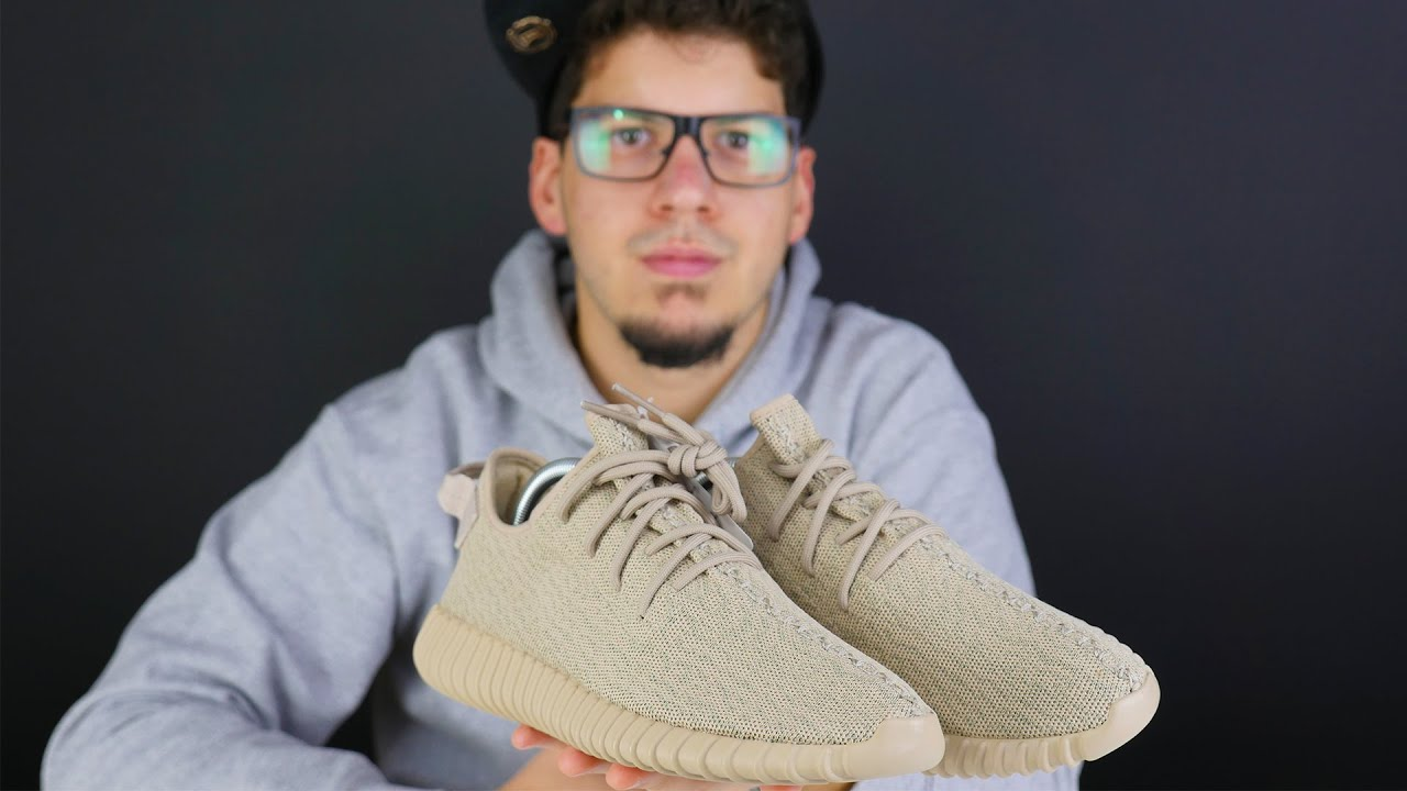 60844d38402ec YEEZY BOOST 350 OXFORD TAN UNBOXING!! - YouTube