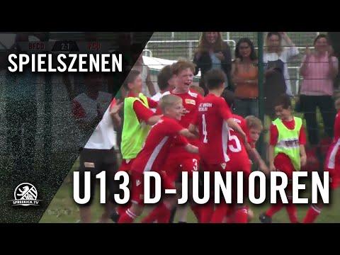 BFC Dynamo - 1. FC Union Berlin (U13 D-Junioren, Verbandsliga, Staffel 2) - Spielszenen