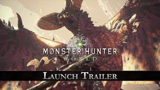 Monster Hunter: World - Launch Trailer thumbnail