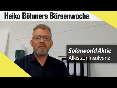 Böhmers Börsenwoche: Chicago-Erlebnisse & die Solarworld-Insolvenz