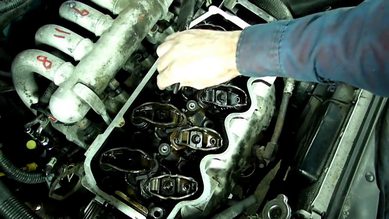 3 4 Liter Engine Belt Diagram Ford Escort Cylinder Head Replacement Part 2 Youtube