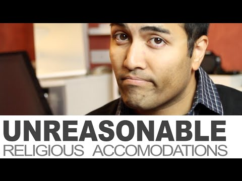 Unreasonable Religious Accommodations at Canada