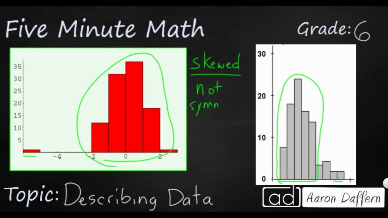 6th Grade Math - Describing Data