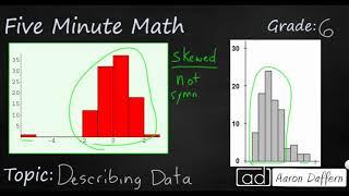 6th Grade Math Describing Data