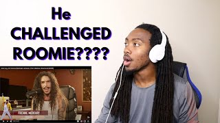 He's CALLING OUT ROOMIE!!! One Guy 20 Voices || REACTION