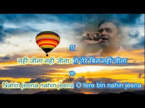 dil main aag lagaye Karaoke only for male singers By Rajesh Gupta
