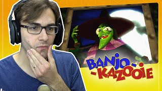 Hora do Quiz | Banjo Kazooie #10 - Desafio da Bruxa Gruntilda | Gameplay do Clássico do N64