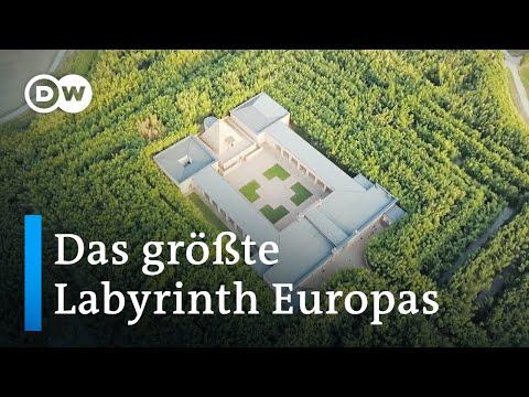 Irrgänge aus Bambus: Das größte Labyrinth Europas | Euromaxx
