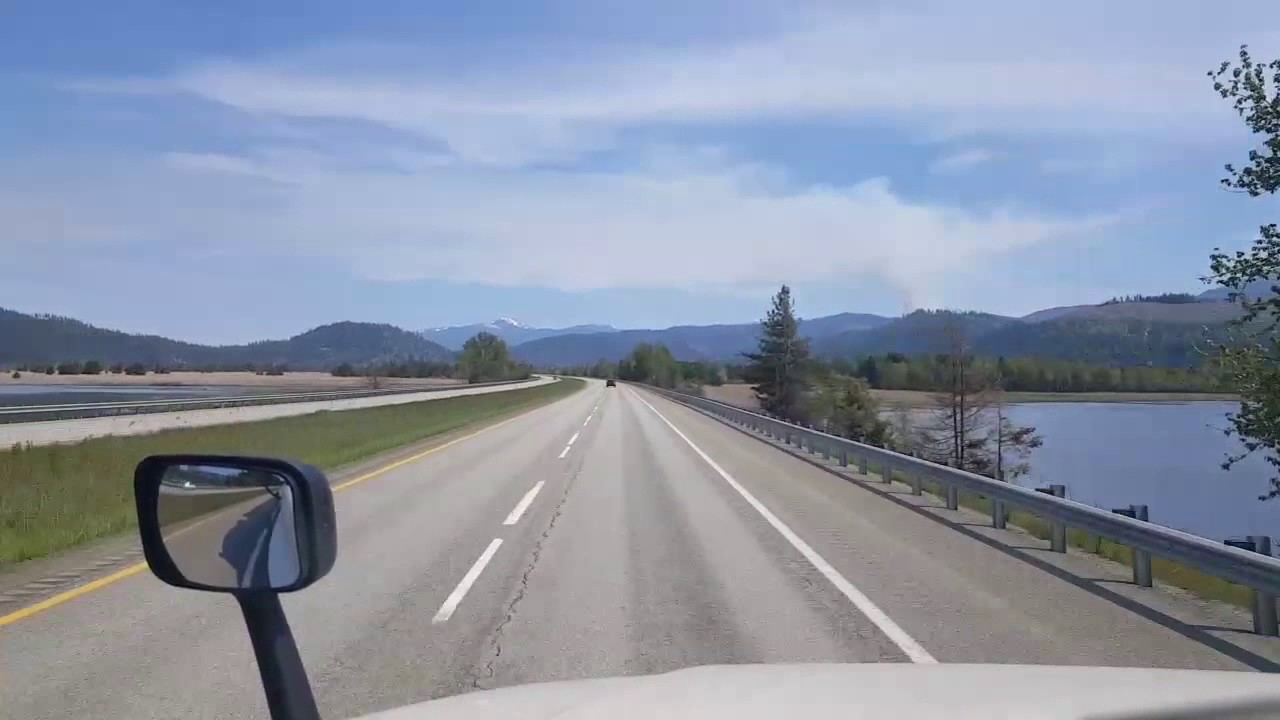 BigRigTravels - Fourth of July Pass, Idaho to Lookout Pass, Montana  Interstate 90 May 10, 2017