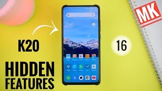Redmi K20 Hidden Features | 16 tips and tricks | 16 features | Amazing features