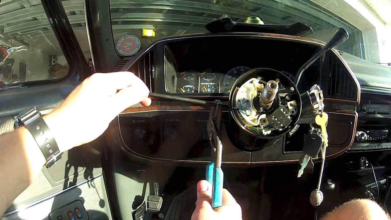 turn signal switch fix on 87-91 bronco    f150 part1