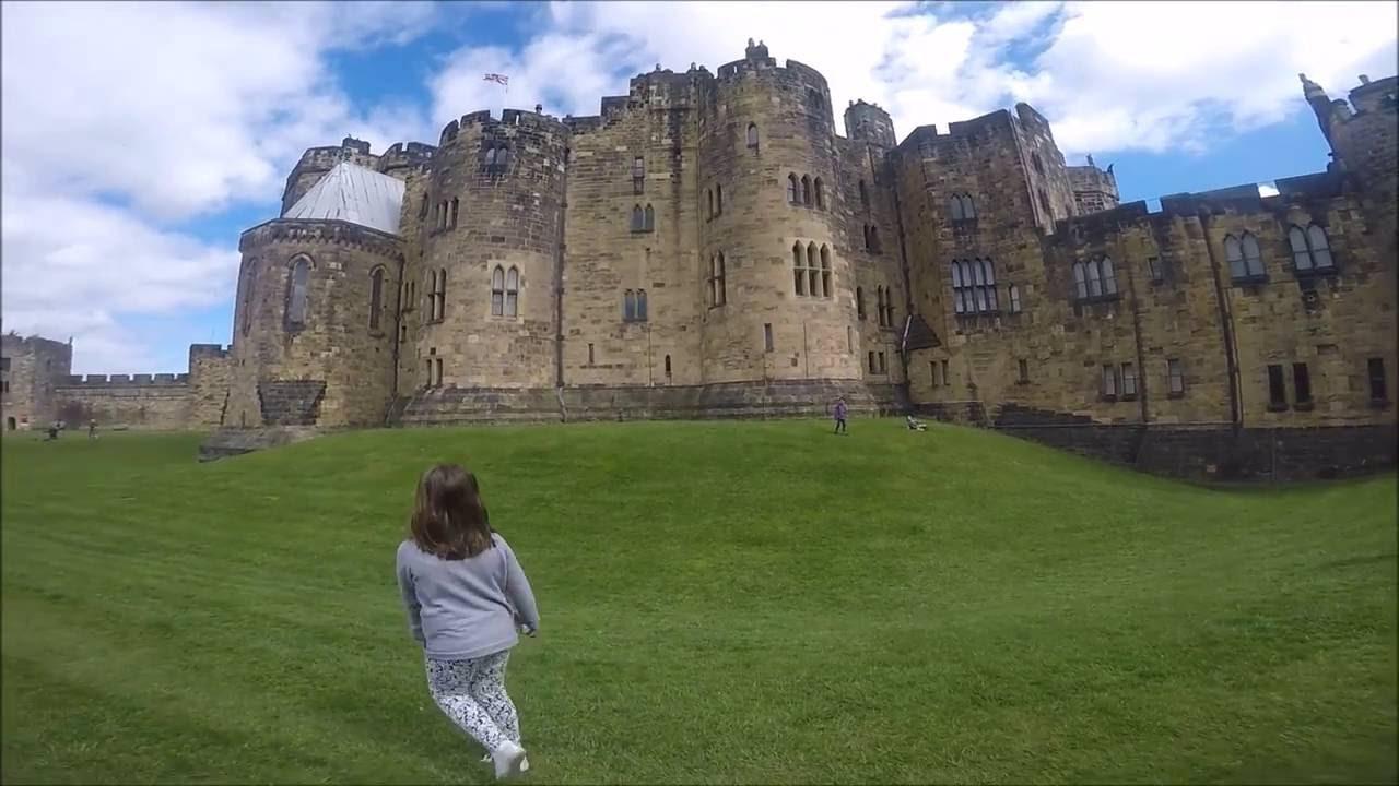 Castello Di Halnwick Di Harry Potter Inghilterra