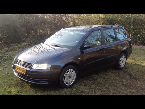 Ogromnie Fiat Stilo Multi Wagon - YouTube YH17