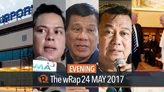 Martial Law, Marawi attack, Donald Trump and Pope Francis   Evening wRap