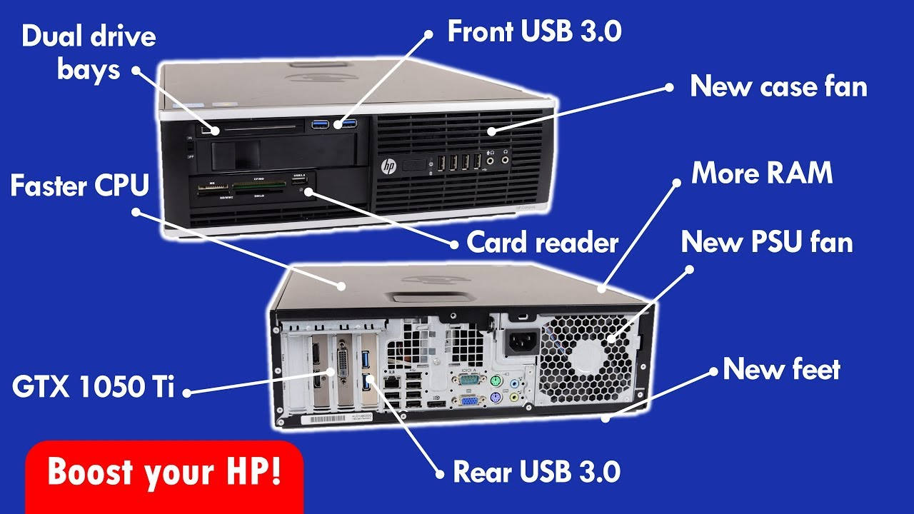 hight resolution of improve your hp elite small form factor pc