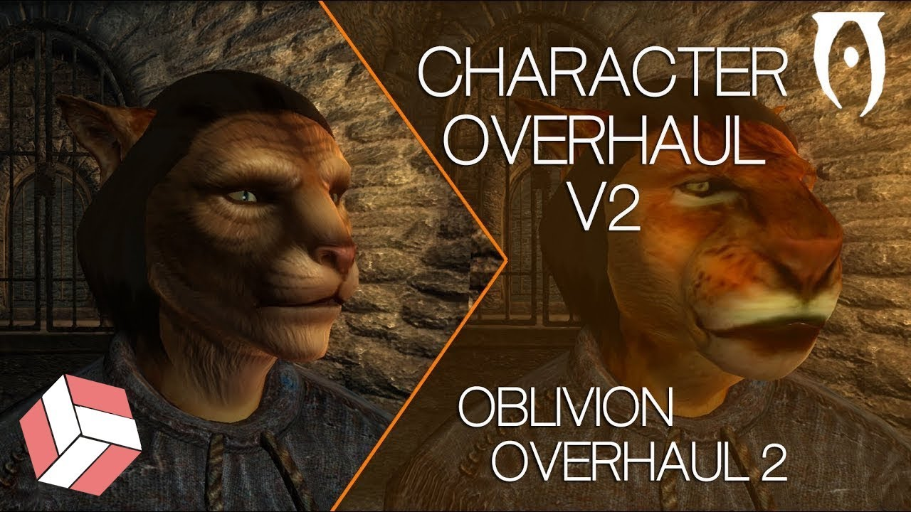 Oblivion - Character Overhaul v2 & Improved Trees & Flora 2  (2018 Mods)