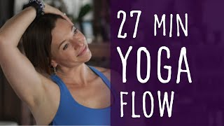 Video 27 Minute Yoga Flow with Fightmaster Yoga download MP3, 3GP, MP4, WEBM, AVI, FLV Maret 2018