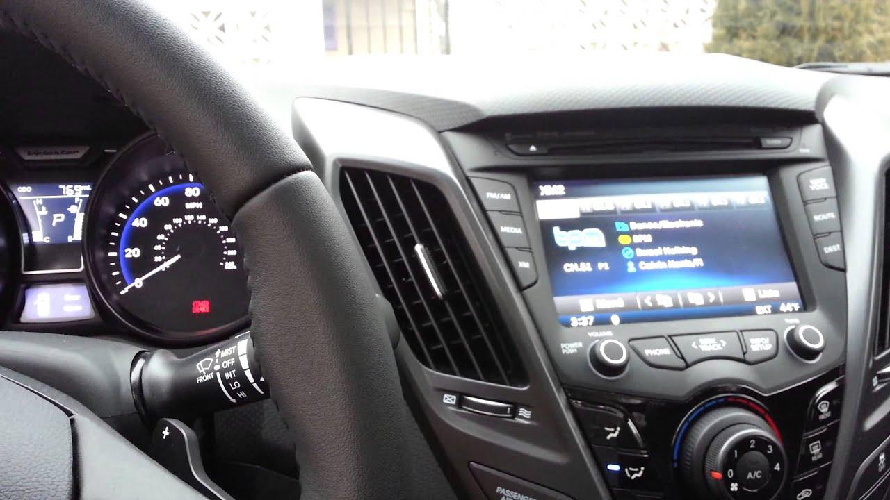 Hyundai Veloster Turbo White Youtube