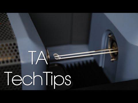 TGA Weight & DTA Baseline Calibration