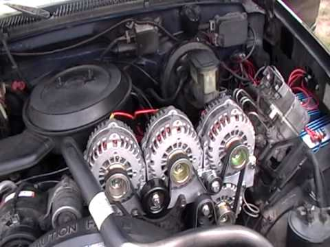 1st 1994 Suburban with 4 AD244 alternator in the world p.2 ...