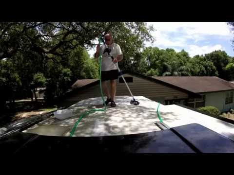 How To Clean Your RV Roof