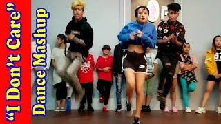 Ed Sheeran Justin Bieber - I Don't Care - Dance -  Choreography