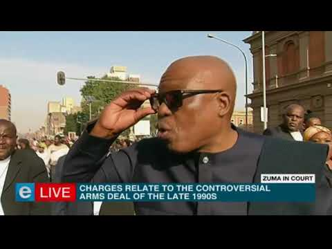 #ZumaInCourt - Live from Zuma supporters march