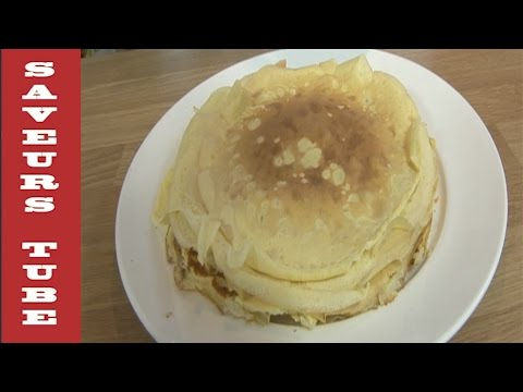French Crepe very easy to make with TV Chef Julien from Saveurs Dartmouth UK