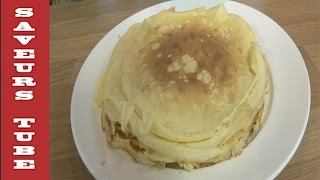 How to make French Crepe very easy to make with The French Baker TV Chef Julien from Saveurs