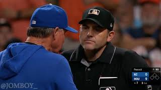 Ned Yost Ejected over Strike Three call, a breakdown