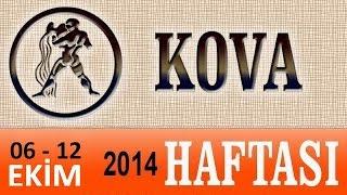 KOVA Burcu, HAFTALIK Astroloji Yorumu, 6-12 EKİM 2014