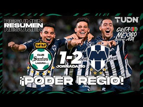 Santos Laguna Monterrey Goals And Highlights