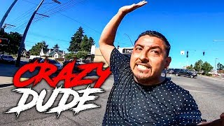 CRAZY DUDE ON STREET    CRAZY, STUPID & ANGRY PEOPLE vs BIKERS     [Ep. #360]