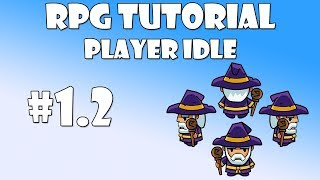 12 unity rpg tutorial   player idle